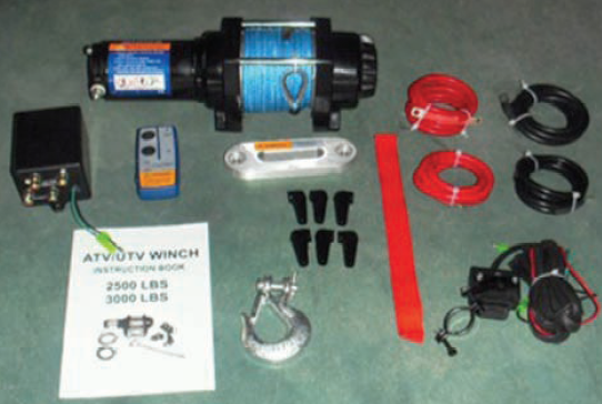 Bronco Wireless ATV/UTV Winch 4500lbs