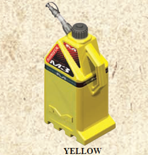 Matrix M3 Utility Can YELLOW